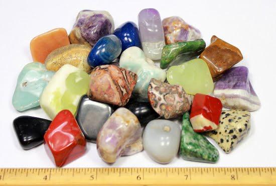 Polished Mixed Stones