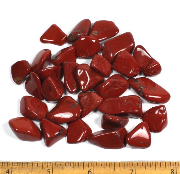 Red Jasper Polsihed Stones