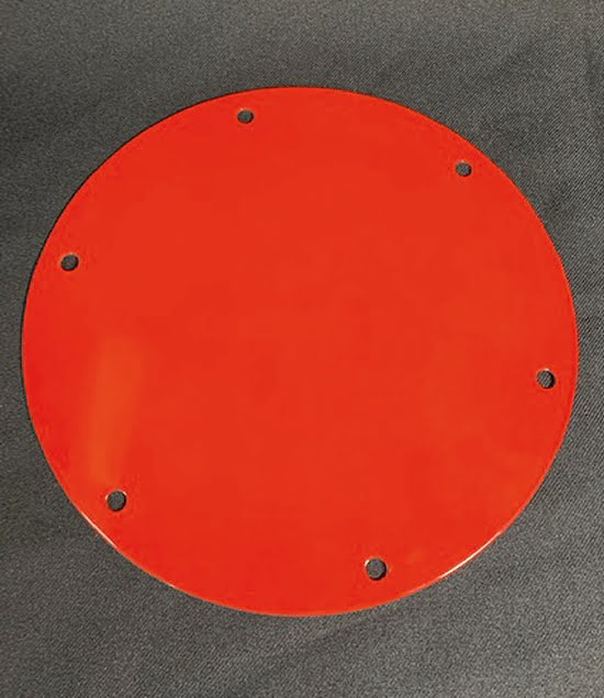 Thumlers Model B Red Metal Lid