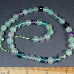 B105C Fluorite Round Beads
