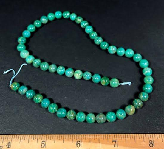 B208 Amazonite Round Beads