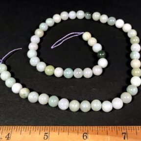 B303 Jade Round Beads
