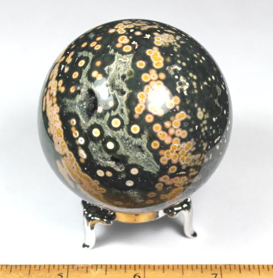 Sea Jasper Sphere