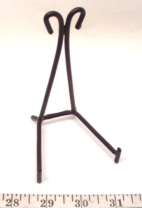 WR1 Wrought Iron Slab/Easel Stand