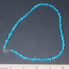 Neon Apatite Necklace
