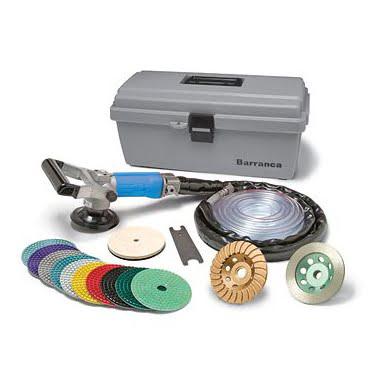 BD-2321WR Pneumatic Wet Rock Polishing Kit