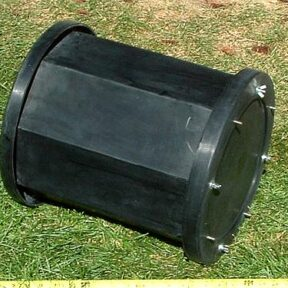 Diamond Pacific Barrel with Lid for the Model 65-T Tumbler
