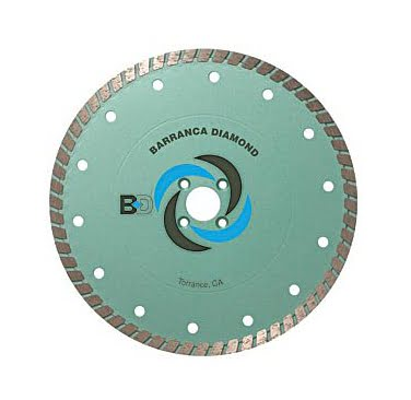 BD-500W Dry Cutting Turbo Diamond Blade