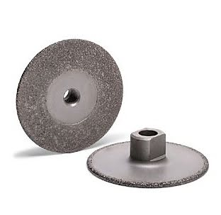 BD 890R - Brazed Diamond Wet Grinding Wheel