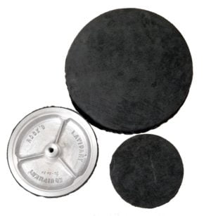 convex polish wheel