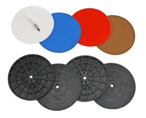 "6"" Smoothing Disc Kit w/ Backing Plates"