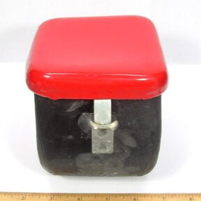 4 lb Capacity Barrel complete with lid for MT-4 and MT-10