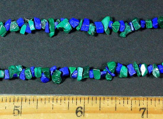 Malachite & Lapis Necklace