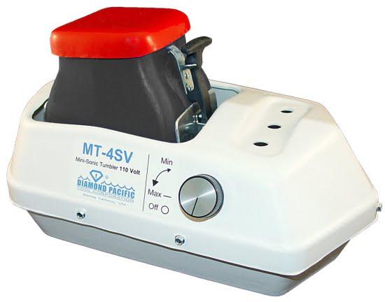 MT4 Mini Sonic Tumbler 4 lb Capacity