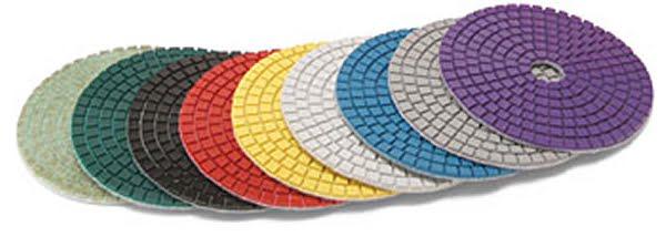 "3"" BD Resin Diamond Wet Polishing Discs"