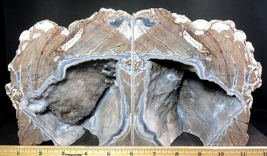 Dugway Geode bookends