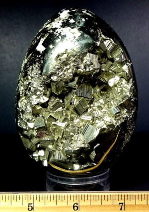 Pyrite egg from Peru