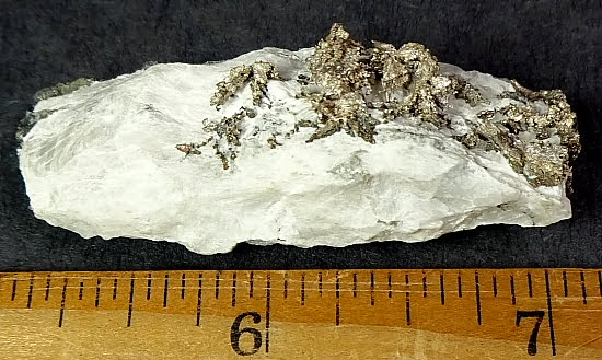 Silver specimen from the Bousimas Mine in Bou Azzer, Morocco