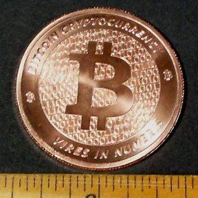 Bitcoin Copper Coin