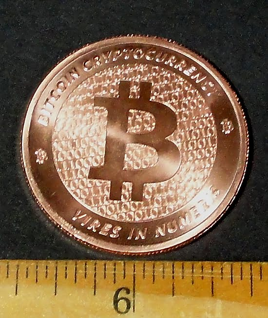 Bitcoin Copper Coin