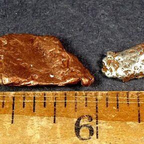 Silver Copper Nugget