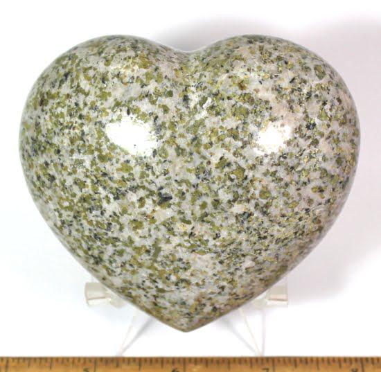 Multi-colored Granite Heart