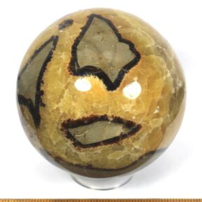 Sphere carved from a Septarian Nodule from Madagascar