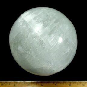 White Selenite sphere