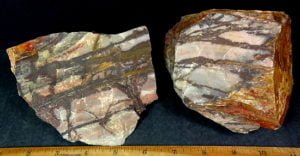 Outback Jasper rock from Australia