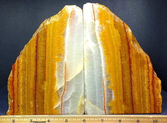 set of Onyx bookends from Mexico