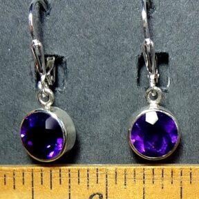 Amethyst Earring set in silver