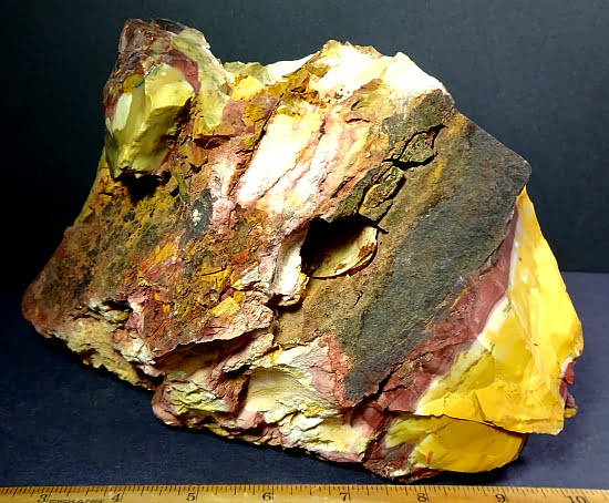 Mookaite Jasper garden rock from Australia