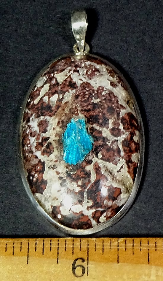 Cavansite pendant