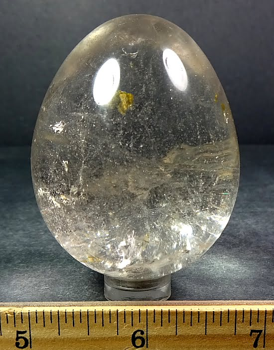 Crystal Quartz egg