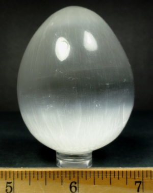 White Selenite egg