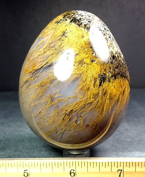 Sagenite egg from Madagascar