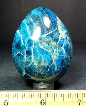 Apatite egg from Madagascar