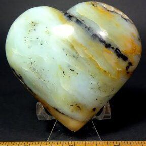 Green Opal from Peru