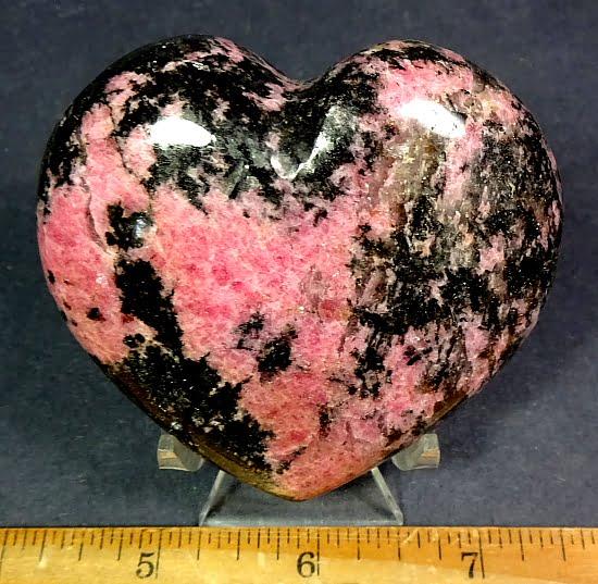 Rhodenite Heart