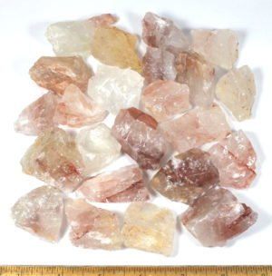 "Fire Quartz from Madagascar in sizes from  3/4"" to 1 3/4"""