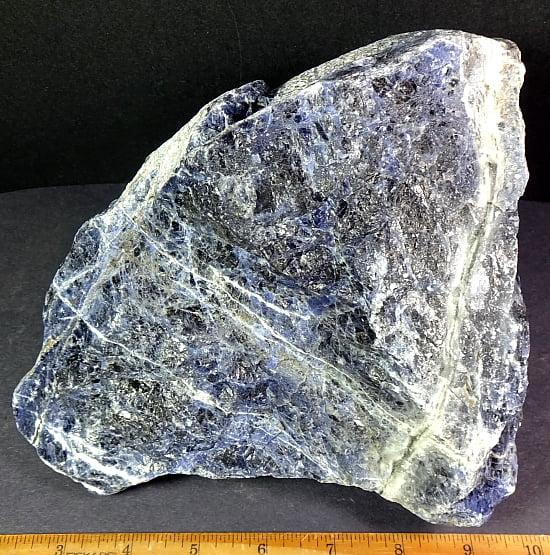 Sodalite rock from Brazil
