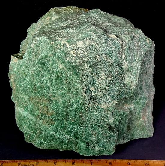 Green Quartzite rock from Utah